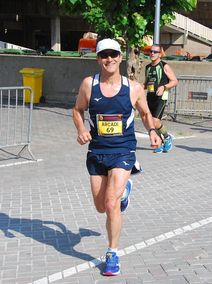 Arcadi running